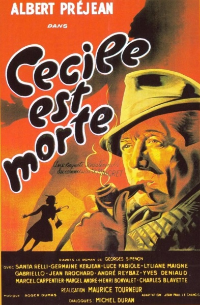 Cecile Is Dead (1944) with English Subtitles on DVD on DVD