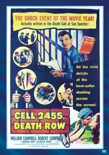 Cell 2455, Death Row (1955) starring William Campbell on DVD on DVD