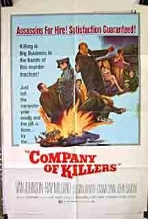 Company of Killers (1971) starring Van Johnson on DVD on DVD