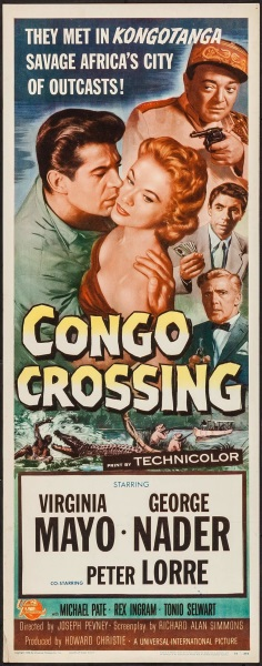 Congo Crossing (1956) starring Virginia Mayo on DVD on DVD