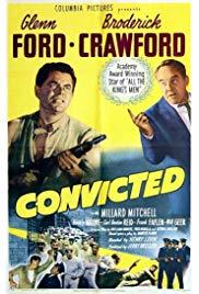 Convicted (1950) starring Glenn Ford on DVD on DVD