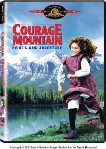 Courage Mountain (1990) starring Juliette Caton on DVD