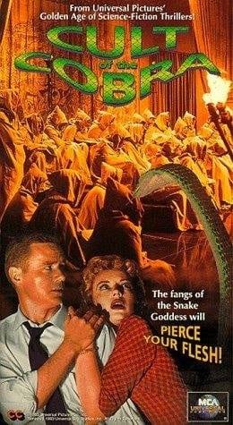 Cult of the Cobra (1955) starring Faith Domergue on DVD on DVD