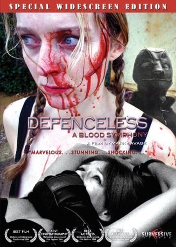 Defenceless: A Blood Symphony (2004) starring Susanne Hausschmid on DVD on DVD