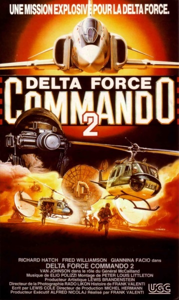 Delta Force Commando II: Priority Red One (1990) starring Richard Hatch on DVD on DVD