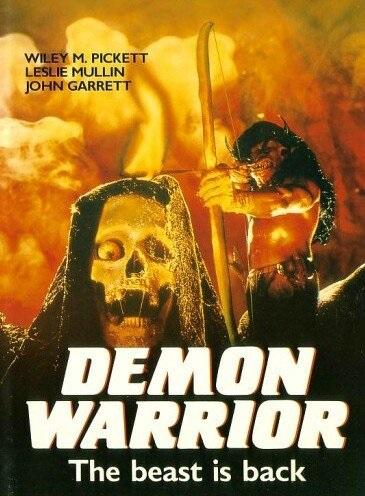Demon Warrior (1988) starring Wiley M. Pickett on DVD on DVD