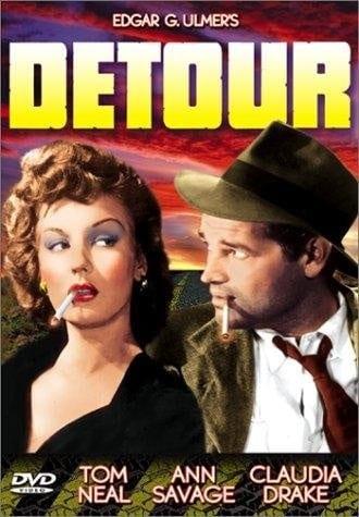 Detour (1945) starring Tom Neal on DVD on DVD
