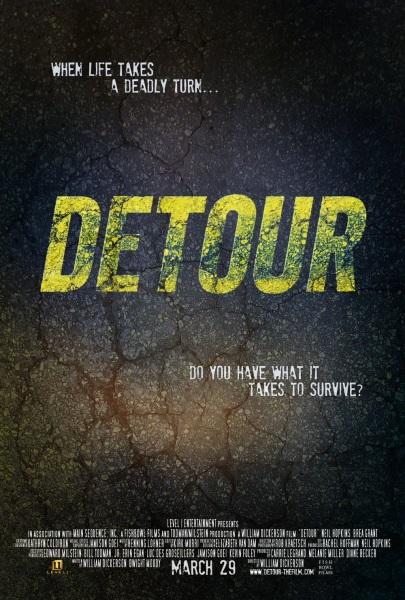 Detour (2013) starring Neil Hopkins on DVD on DVD