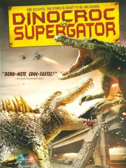Dinocroc vs. Supergator (2010) starring David Carradine on DVD on DVD