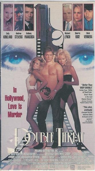 Double Threat (1992) starring Sally Kirkland on DVD on DVD