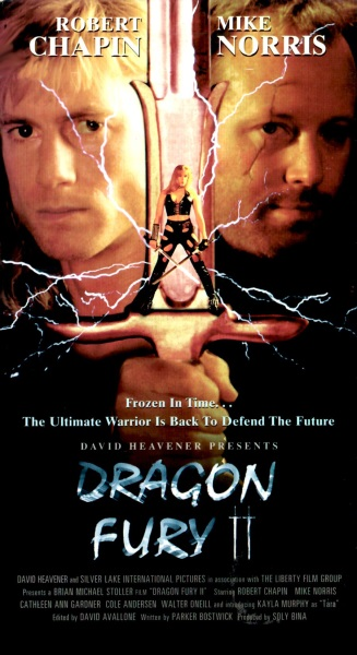Dragon Fury II (1996) starring Robert Chapin on DVD on DVD