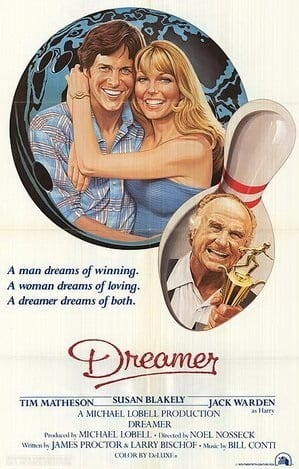 Dreamer (1979) starring Tim Matheson on DVD on DVD
