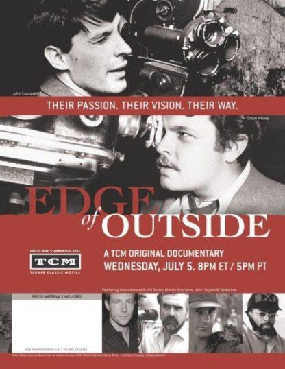 Edge of Outside (2006) starring Peter Biskind on DVD on DVD