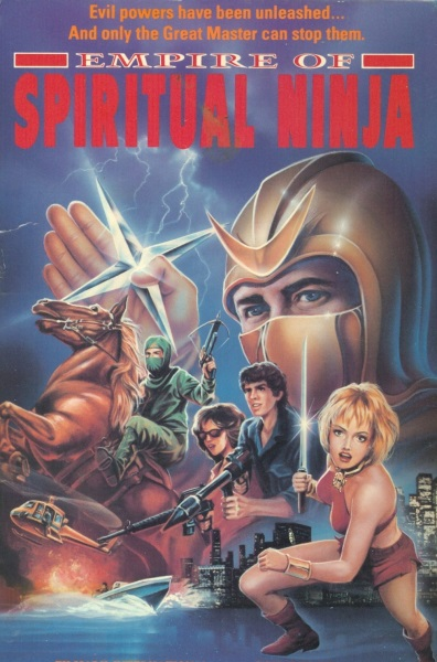 Empire of the Spiritual Ninja (1988) starring Laura Bells on DVD on DVD