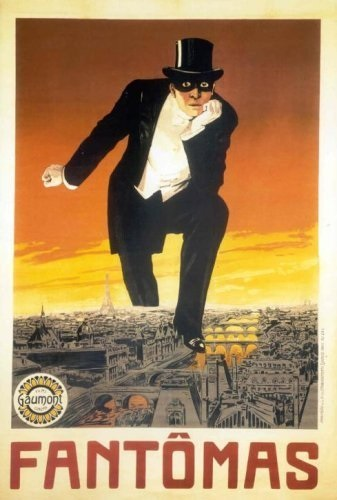 Fantômas: In the Shadow of the Guillotine (1913) with English Subtitles on DVD on DVD