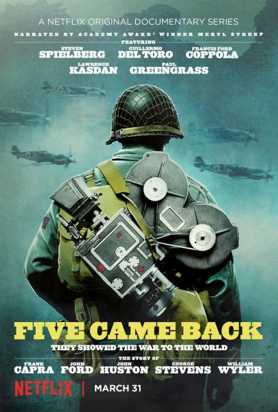 Five Came Back (2017) starring Francis Ford Coppola on DVD on DVD