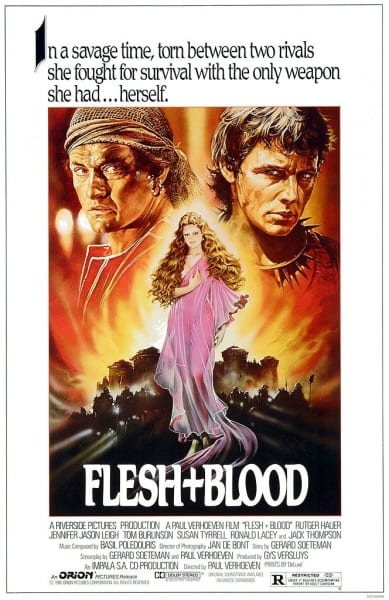 Flesh+Blood (1985) with English Subtitles on DVD on DVD