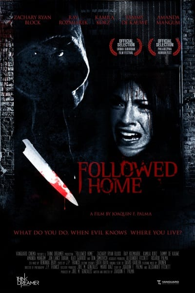 Followed Home (2010) starring Zachary Ryan Block on DVD on DVD
