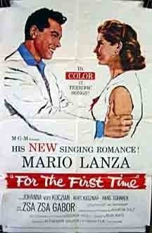 For the First Time (1959) starring Mario Lanza on DVD on DVD