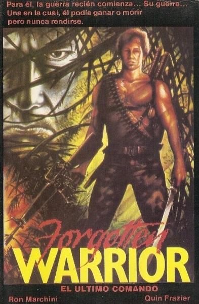 Forgotten Warrior (1986) starring Ronald L. Marchini on DVD on DVD
