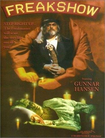 Freakshow (1995) starring Gunnar Hansen on DVD