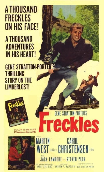 Freckles (1960) starring Martin West on DVD on DVD