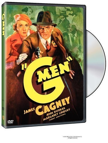'G' Men (1935) starring James Cagney on DVD on DVD