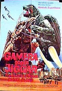 Gamera vs. Monster X (1970) with English Subtitles on DVD on DVD