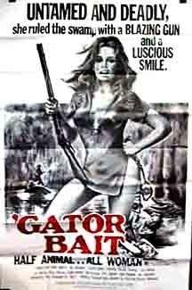 'Gator Bait (1974) starring Claudia Jennings on DVD on DVD