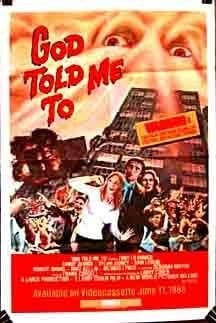 God Told Me To (1976) starring Tony Lo Bianco on DVD on DVD