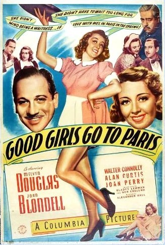 Good Girls Go to Paris (1939) starring Melvyn Douglas on DVD on DVD