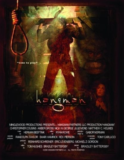 Hangman (2009) starring Matthew Currie Holmes on DVD on DVD