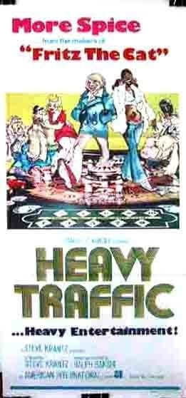 Heavy Traffic (1973) with English Subtitles on DVD on DVD