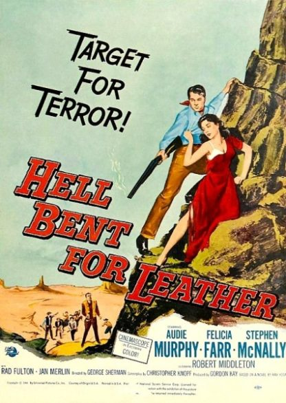 Hell Bent for Leather (1960) starring Audie Murphy on DVD on DVD