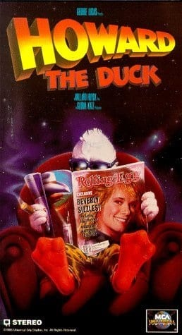 Howard the Duck (1986) starring Lea Thompson on DVD on DVD