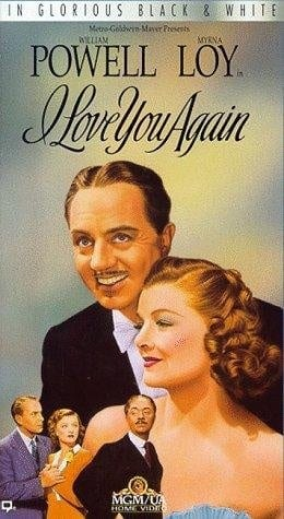 I Love You Again (1940) starring William Powell on DVD on DVD