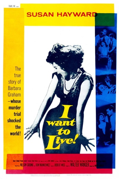 I Want to Live! (1958) starring Susan Hayward on DVD on DVD