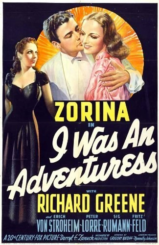 I Was an Adventuress (1940) with English Subtitles on DVD on DVD