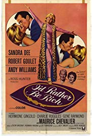 I'd Rather Be Rich (1964) starring Sandra Dee on DVD on DVD