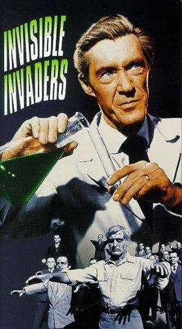 Invisible Invaders (1959) starring John Agar on DVD on DVD