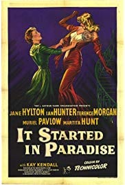 It Started in Paradise (1952) starring Jane Hylton on DVD on DVD