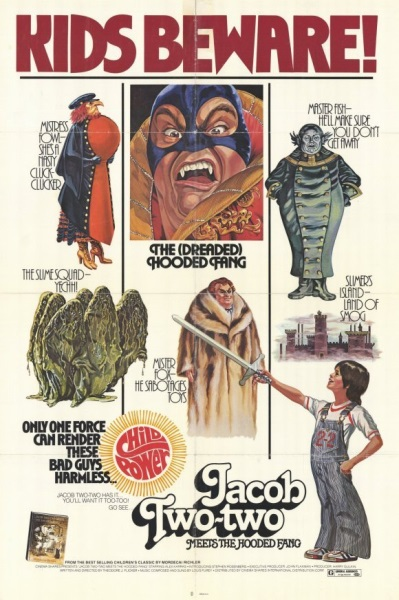 Jacob Two-Two Meets the Hooded Fang (1978) starring Stephen Rosenberg on DVD on DVD