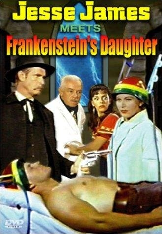 Jesse James Meets Frankenstein's Daughter (1966) starring John Lupton on DVD