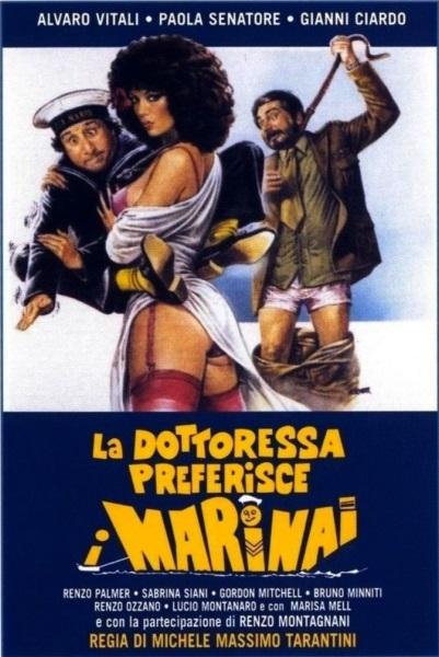 La dottoressa preferisce i marinai (1981) with English Subtitles on DVD on DVD