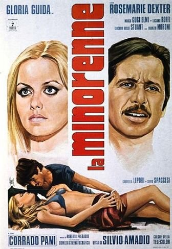 La minorenne (1974) with English Subtitles on DVD on DVD