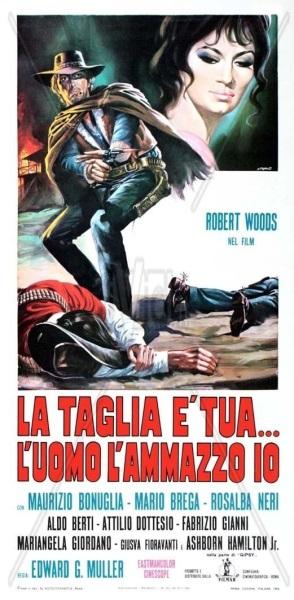 La taglia è tua... l'uomo l'ammazzo io (1969) with English Subtitles on DVD on DVD