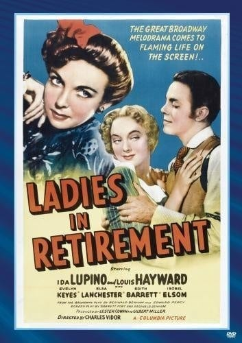 Ladies in Retirement (1941) starring Ida Lupino on DVD on DVD