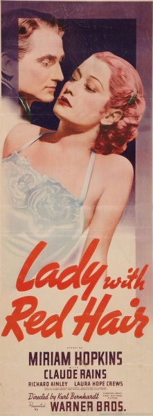 Lady with Red Hair (1940) starring Miriam Hopkins on DVD on DVD