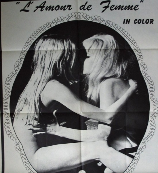 L'amour de femme (1969) starring Cathy Adams on DVD