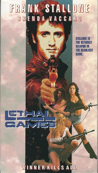 Lethal Games (1991) starring Frank Stallone on DVD